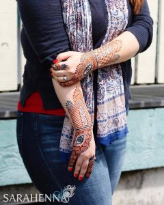 Winter Henna Schedule