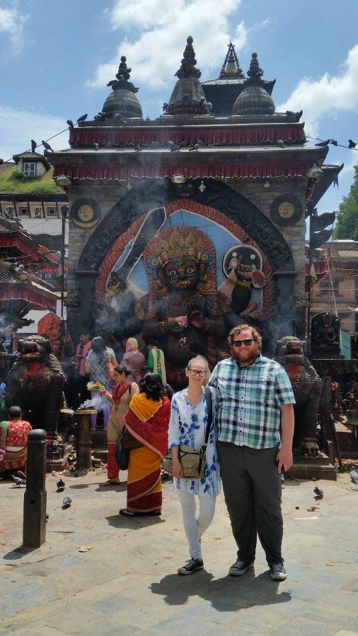Tammy and Randy in Kathmandu