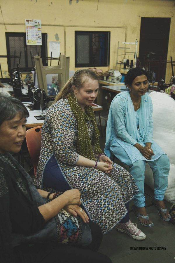 Noreen and Katey visit I was a Sari