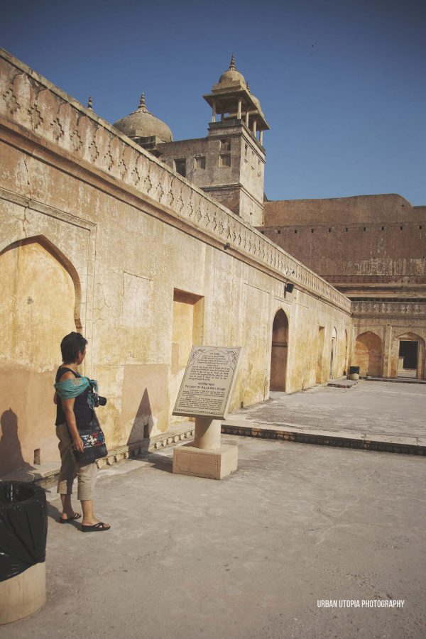 Noreen checks out Amber Fort
