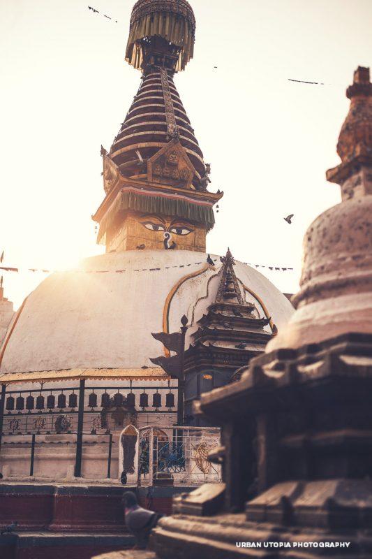 Sunrise in Kathmandu
