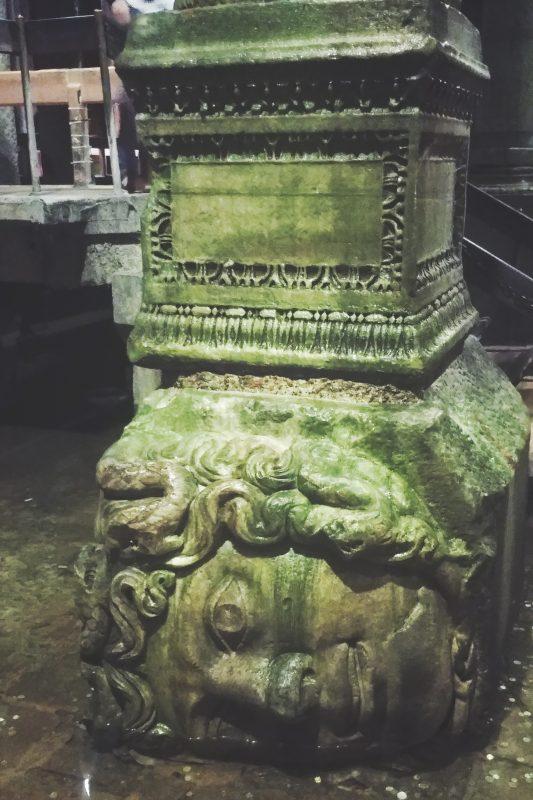 Medusa Head - Basilica Cistern