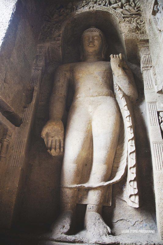 Buddha - Kanheri Caves