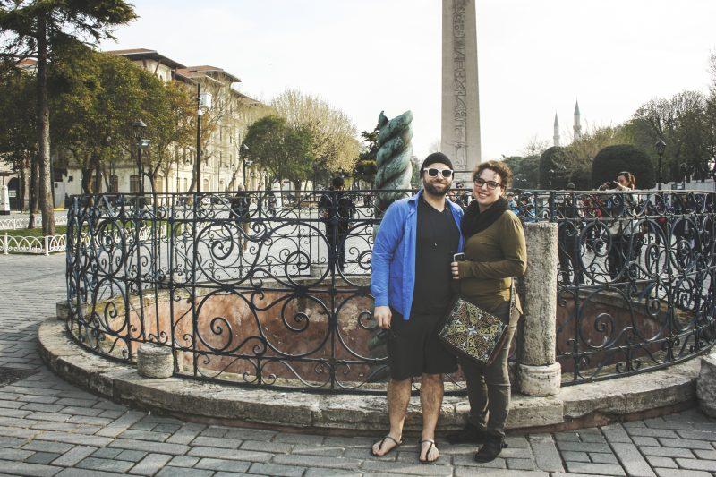Matt and Sarah soak in the history of Istanbul