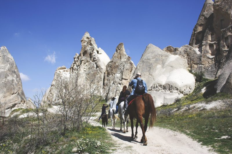 Horseback tour Cappadocia